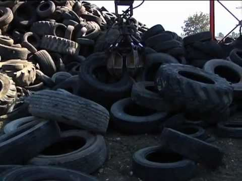 BRITISH COMPANY LAUNCHES FIRST EFFECTIVE WAY TO RECYCLE SCRAP TYRES AND AVOID TYRE MOUNTAINS