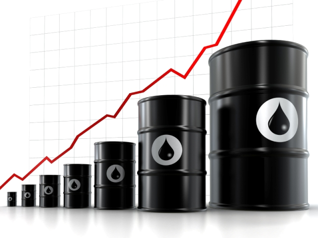 Oil rises near $97 a barrel; US gas prices fall