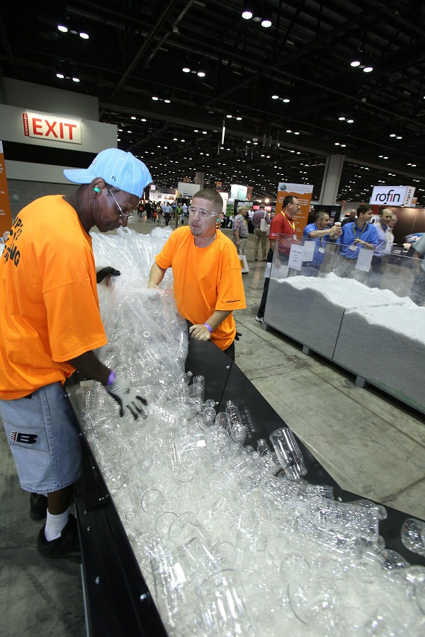 OFFICIAL RECYCLING PROGRAM AT NPE2012 COLLECTED MORE THAN TWICE AS MUCH MATERIAL AS AT NPE2009, FINAL DATA INDICATE