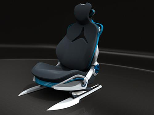 'Performance' Car Seat Eliminates Steel