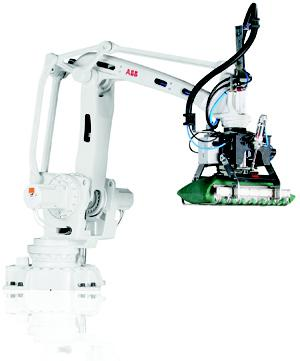 ABB Robot Package Simplifies Palletizing Automation