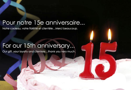 15 Year Anniversary of the plastics industry
