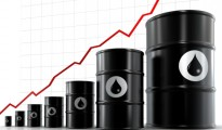 Oil rises near $97 a barrel; US gas prices fall