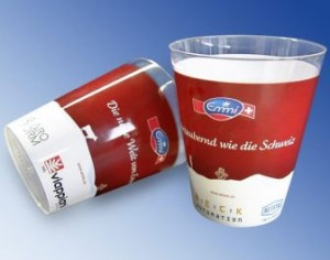 Netstal to demonstrate drinking cup molding at Plastindia 2012