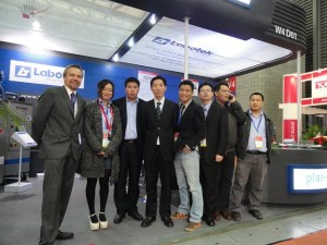 Labotek reports strong results on the back of ChinaPlas 2012.