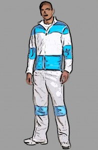 Sports exercise suit design in Arnitel® Eco wins DSM e-nnovation contest