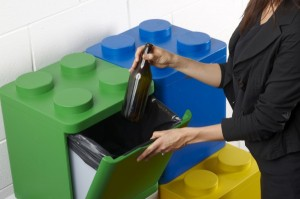 1 LEGO Recycling Containers