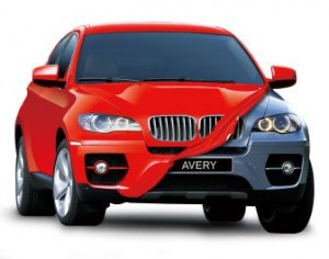 Avery Dennison offers paint replacement car wrap in over 30 colors and 3 finishes