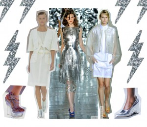Shiny Metalics and Hi-Tech Plastics Add a Sci-Fi Feel to This Fashion Season