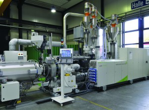 greenpipe concept for energy-efficient pipe extrusion:  solEX extruder and EAC pipe head combination