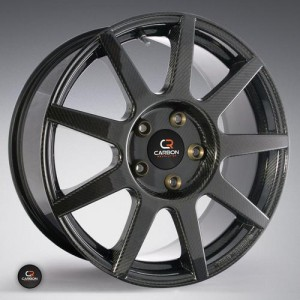One-Piece Carbon Composite Wheel Drives Cars