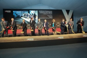 Lanxess' two plants in Singapore and China broke ground