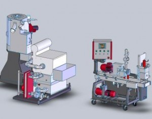 New Econ underwater pelletizing system with integrated band filter