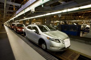 GM to Idle Chevy Volt Production Again