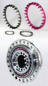 Harmonic Drive® gear sets use DuPont™ Vespel® bearing cages for light weight, low friction and wear-resistance