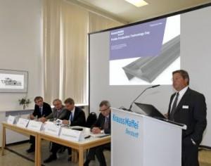 KraussMaffei Berstorff technology day successfully held