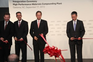 Lanxess opens first plant for high-tech plastics in the USA