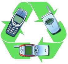 AT&T breaks cell phone recycling record