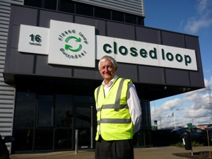 RECYCLING GURU CHRIS WHITE JOINS CLOSED LOOP RECYCLING