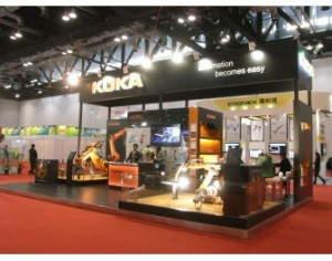 Kuka showcases robot technologies for the automotive industry at Fisita 2012