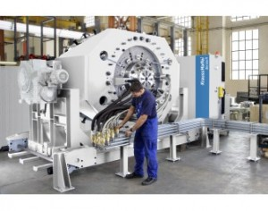 Two Russian pipe manufacturers installed 36D single-screw extrusion system from KraussMaffei Berstorff