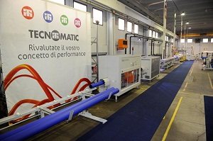 Tecnomatic to showcase machinery and equipment for production of pipes