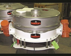 ULTRA-LOW-PROFILE SIFTER FITS TIGHT SPOTS