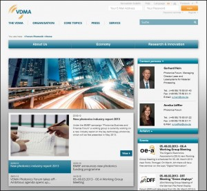 VDMA Photonics Forum appears in a new light