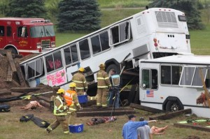 Metro's old rail cars used for disaster training, scrap