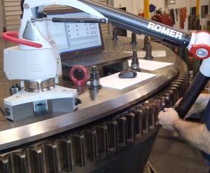 Hexagon Metrology launches portable gear measurement solution