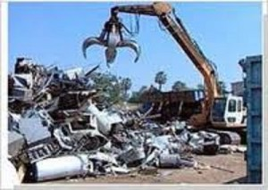 Steel scrap metal recycling rates continue to climb in North America