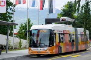 ABB develops world's first technology to power flash charging electric bus in 15s