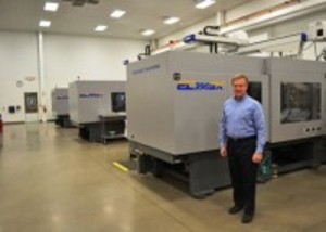 Pennsylvania molder adds four electric Toshibas