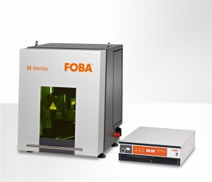 New laser marking workstation FOBA M1000