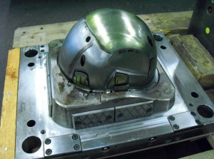 VISI Speeds Up Helmet Mould Work