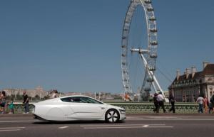 Volkswagen's fuel-efficient XL1 makes its UK debut