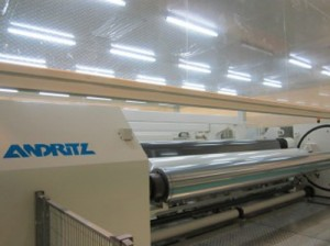 Andritz starts up Biax BOPET thin film line for Zhuoli Jiaozou Stamping in China