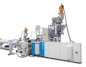 KraussMaffei Berstorff supplies direct extrusion line to Egypt pipes manufacturer