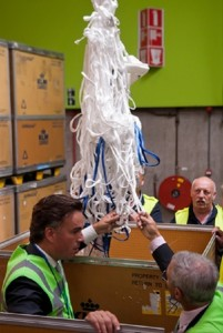 Revolutionary lightweight cargo nets made with Dyneema® will slash Air France-KLM greenhouse gas emissions