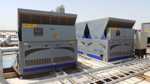Cooling down in Saudi: IsoCool complete landmark installation for extruder