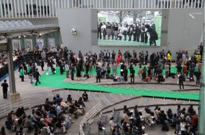 Teijin Rolls Out Eco-Friendly Green Carpet for Tokyo International Film Festival