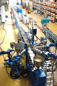 Focus on fast precision extrusion of plastics heating pipes