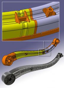 Collaborative venture yields lightweight composite parts