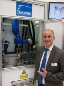 Jenoptik's new laser welding system achieves strong welding with short cycle times