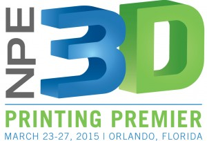 SPI ANNOUNCES 'NPE3D,' A NEW ANNUAL EVENT TO DEBUT AT NPE2015
