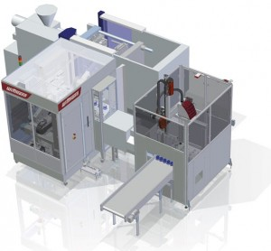 WITTMANN presents 4-cavity cup production