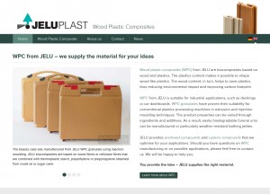 New website for wood plastic composites