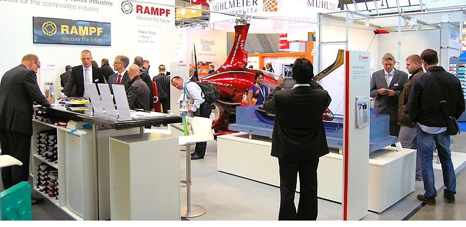 RAMPF Tooling makes a strong impression with its special exhibits
