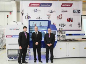 Wittmann celebrates official handover of first made in Hungary injection molding machine