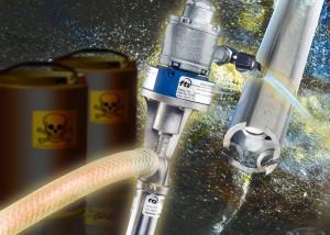 Compact Drum Pumps for Safer, No-Spills Liquids Transfer